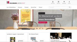 Onlineshop Holzmann Medien