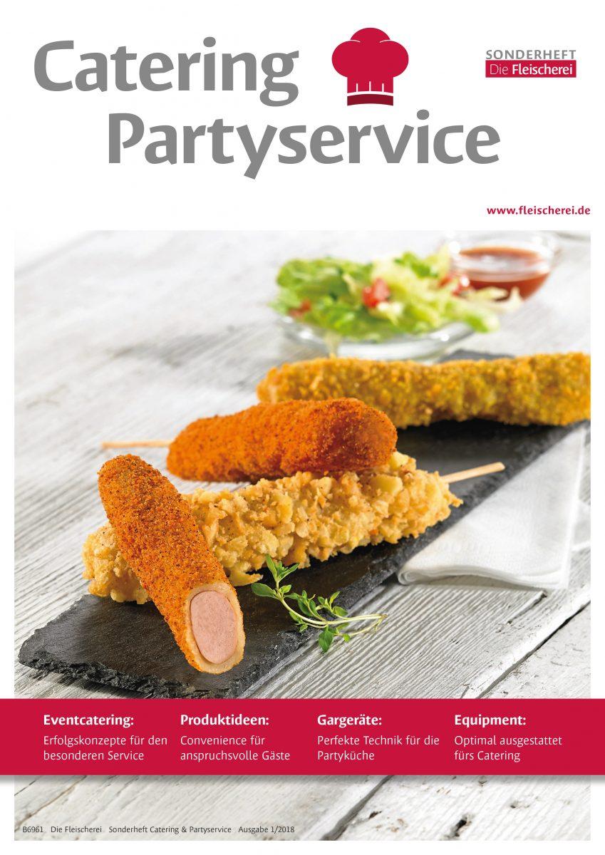 Cover Die Fleischerei Catering & Partyservice 1/2018