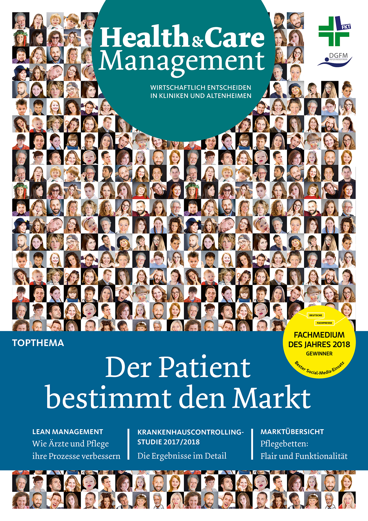 Cover Health & Care Management 6/2018