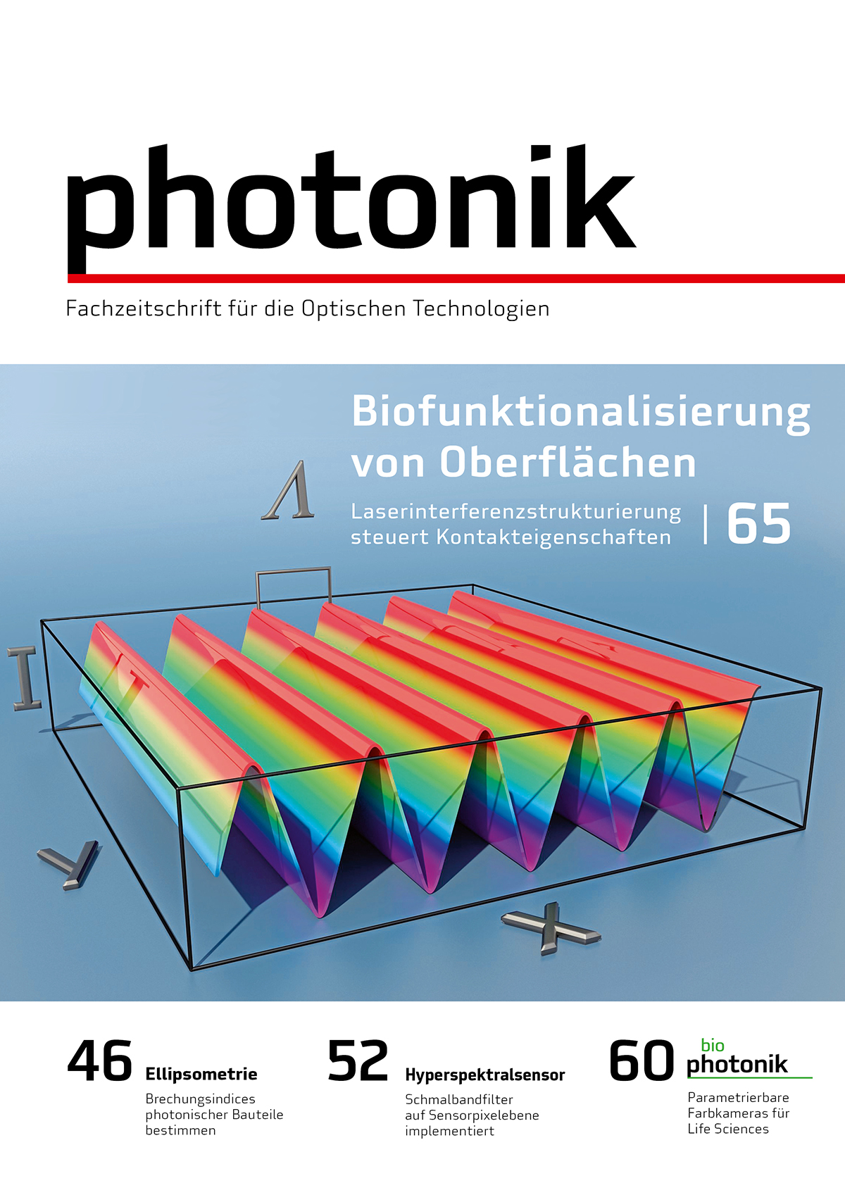 Cover photonik 2/2018