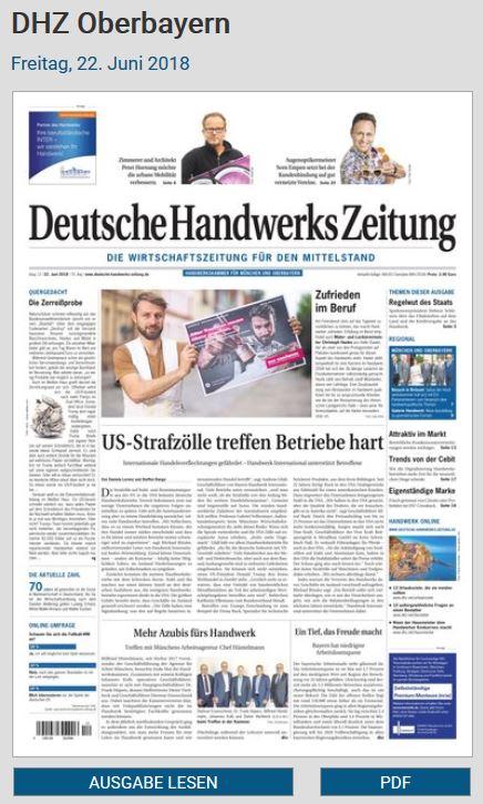 Deutsche Handwerks Zeitung E-Paper 12/2018