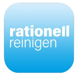 Logo rationell reinigen App