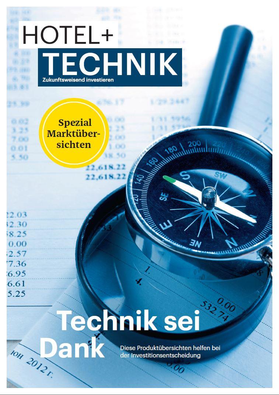 Cover HOTEL+TECHNIK Marktübersichten 2018