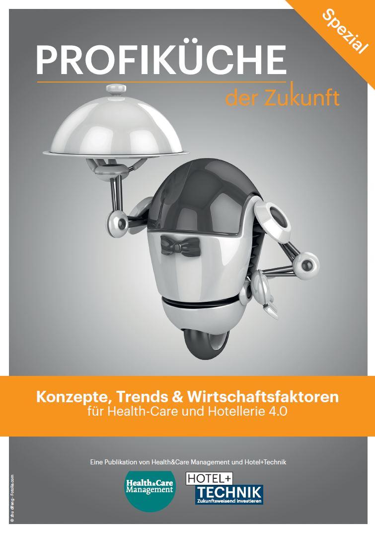 Cover HOTEL+TECHNIK Profiküche der Zukunft 2017