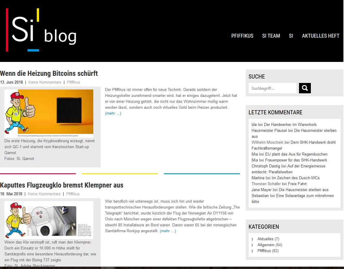 Si blog