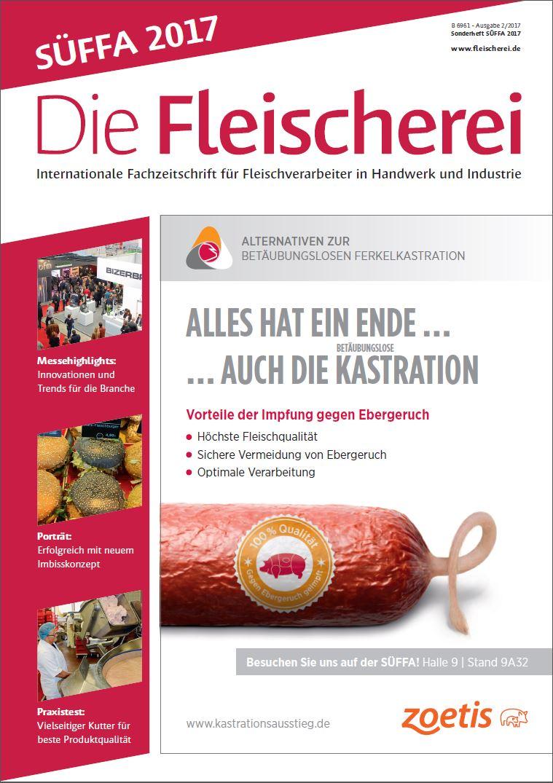 Cover Die Fleischerei Süffa 2/2017