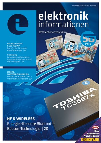 Cover elektronik informationen 2/2018
