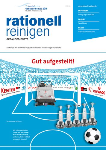 Cover rationell reinigen 6/2018