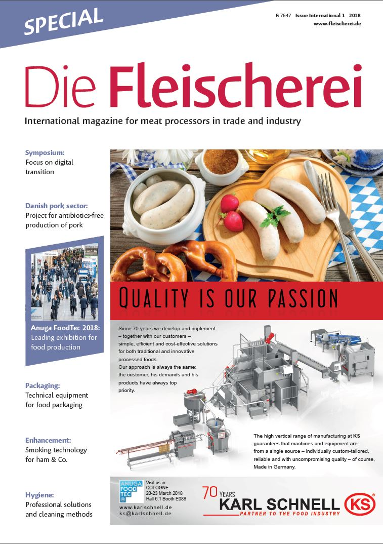 Cover Die Fleischerei International