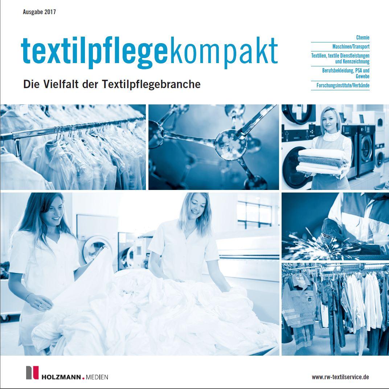 Cover R+WTextilservice textilpflegekompakt 2017
