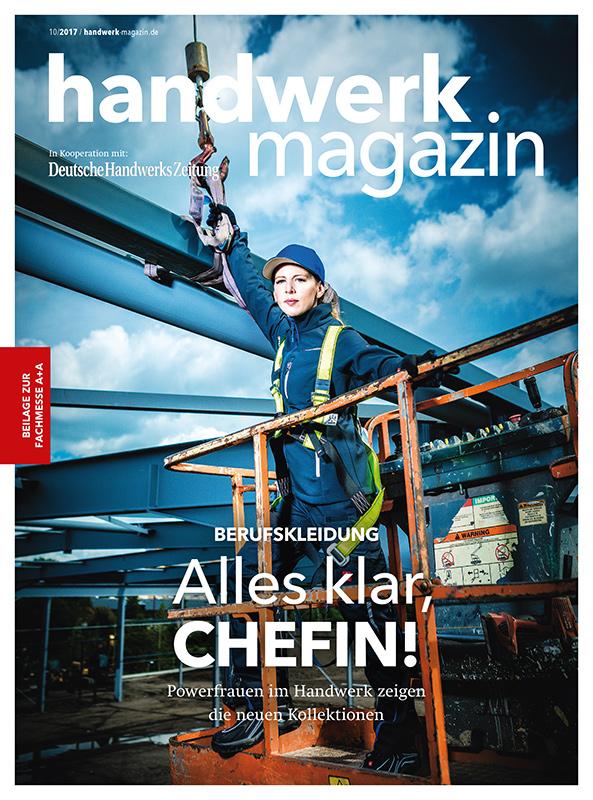 Cover handwerk magazin 10/2017