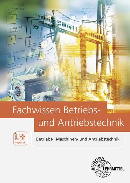 Cover Fachwissen Betriebs- und Antriebstechnik
