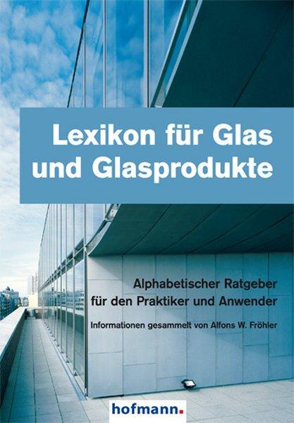 Cover Lexikon für Glas und Glasprodukte