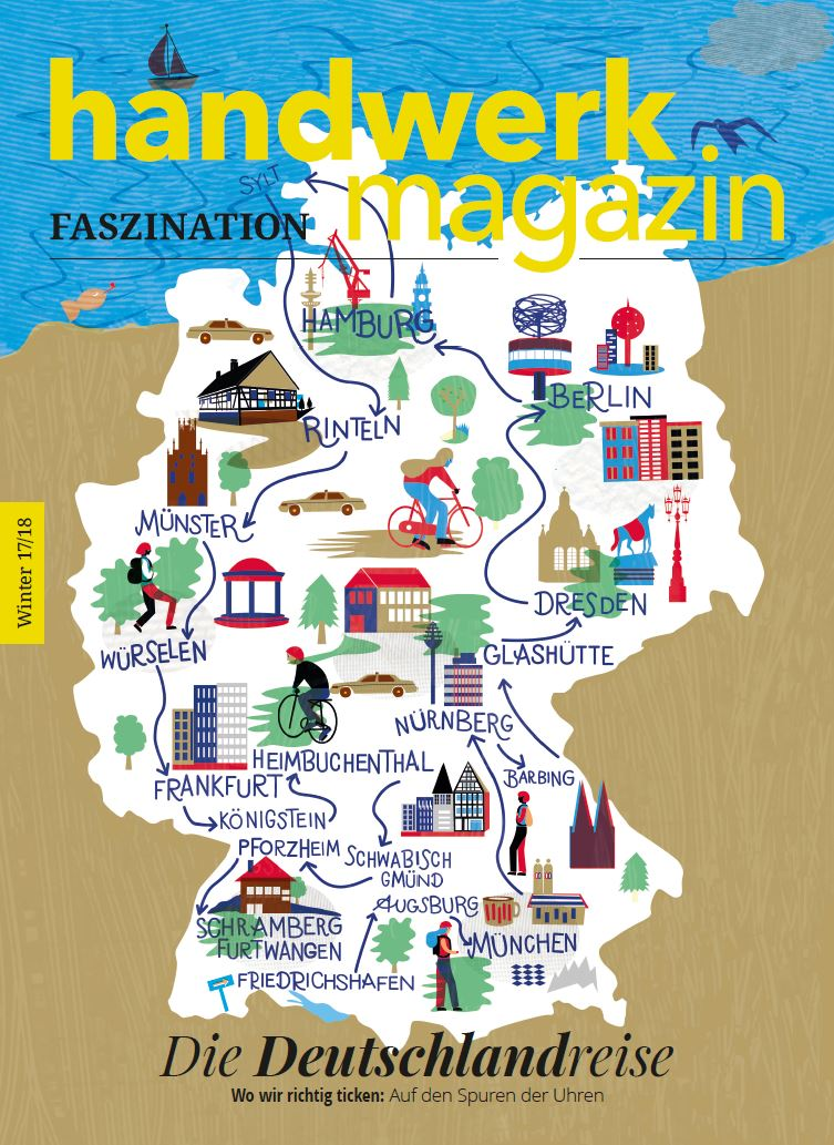 handwerk magazin Faszination Winter 17/18