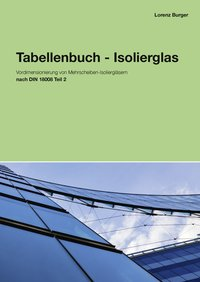 Cover Tabellenbuch Isolierglas