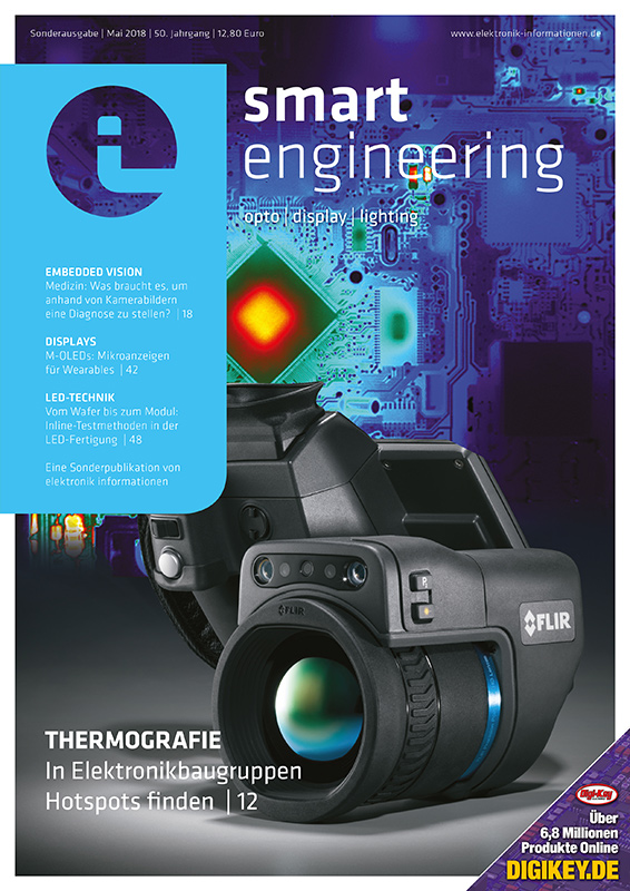 Cover elektronik informationen smart engineering 05/2018