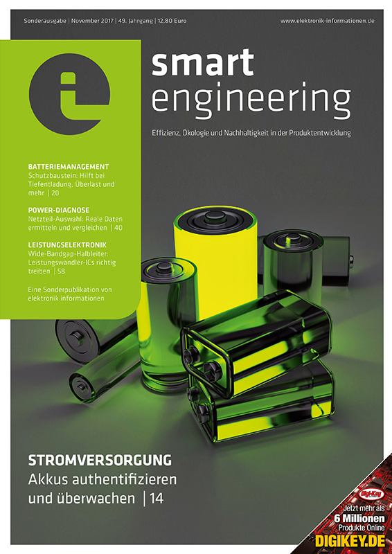 Cover elektronik informationen smart engineering 11/2017
