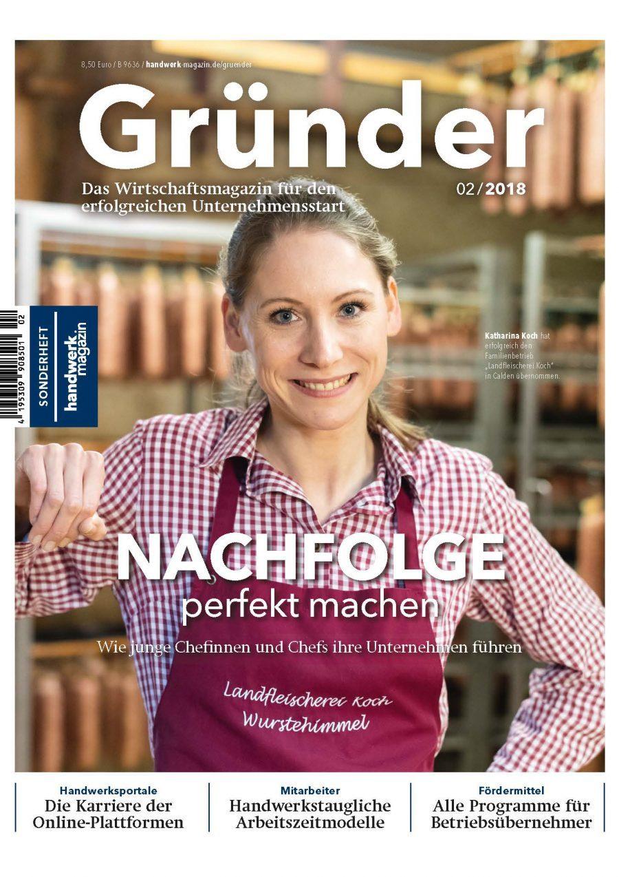 Sonderheft handwerk magazin Gründer
