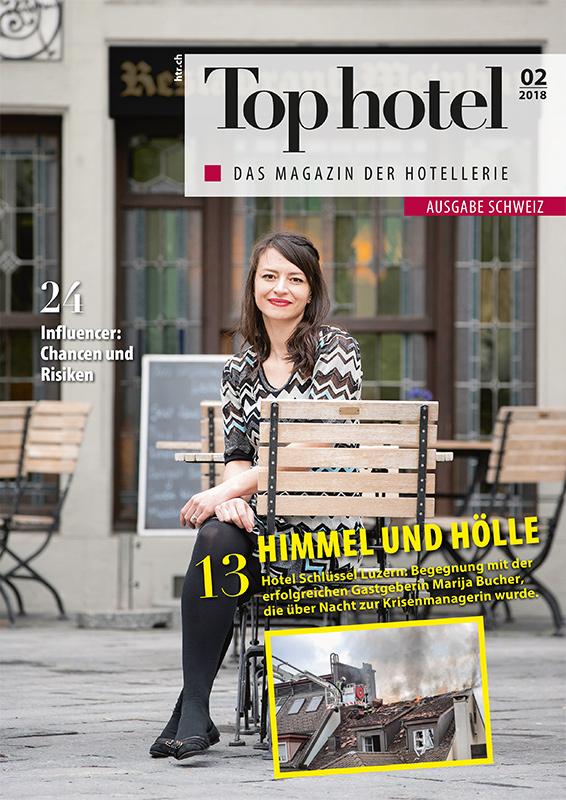 Cover Tophotel Schweiz 02/2018