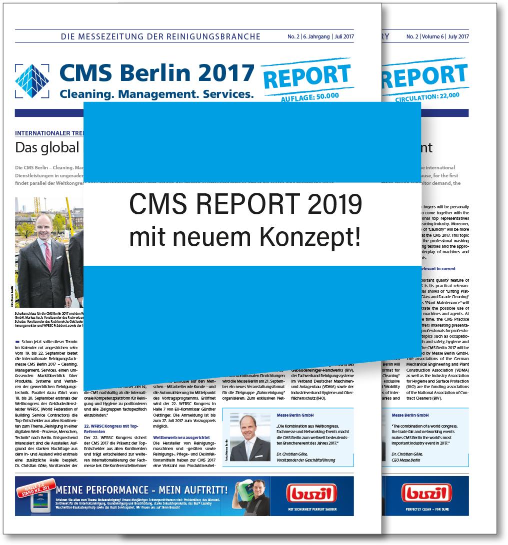 CMS Report 2019 mit neum Konzept