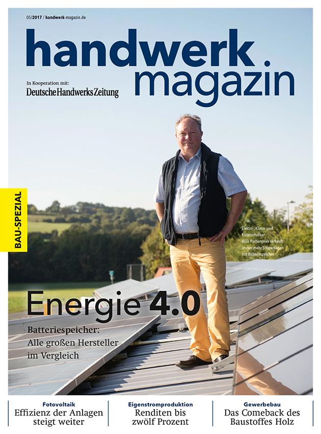 Cover handwerk magazin 05/2017