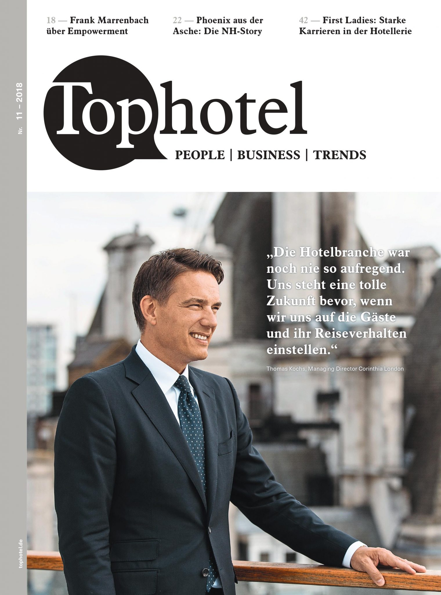 Cover Tophotel 11 2018