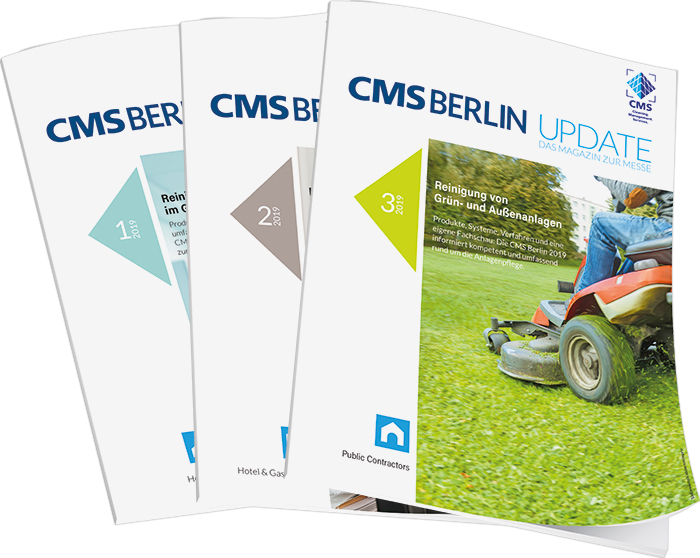 Cover CMS Update 2019 rationell reinigen