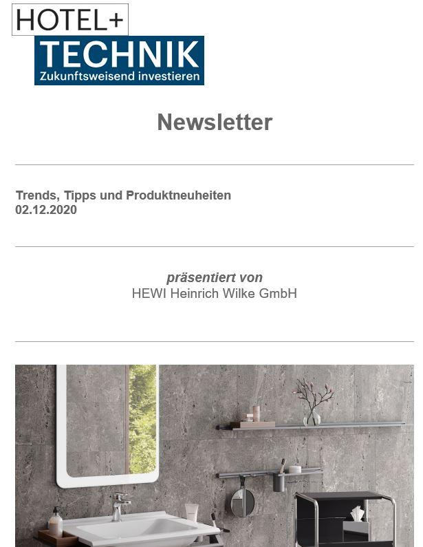 Hotel+Technik Newsletter Screen